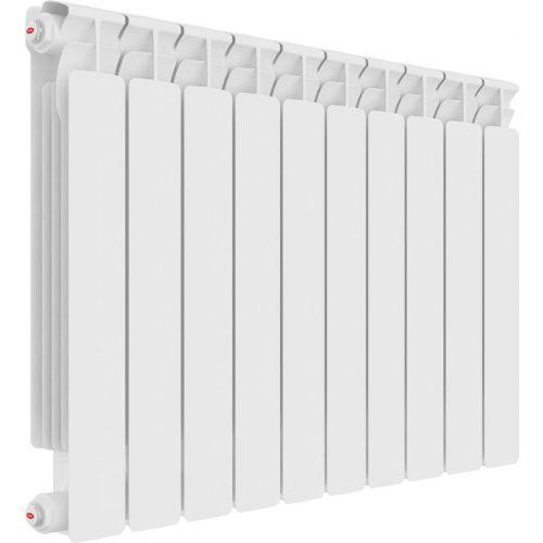 Радиатор биметаллический Rifar Alp Ventil 500 10 секций, нижнее подключение левое