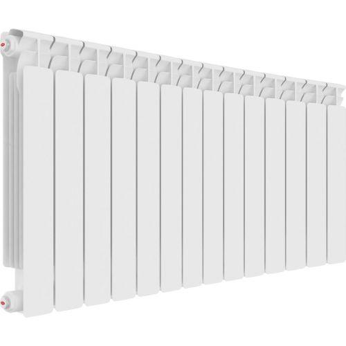 Радиатор биметаллический Rifar Alp Ventil 500 14 секций, нижнее подключение левое