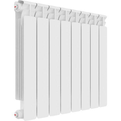 Радиатор биметаллический Rifar Alp Ventil 500 8 секций, нижнее подключение левое
