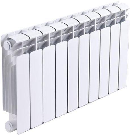 Радиатор биметаллический Rifar Base Ventil 350 10 секций левое подключение