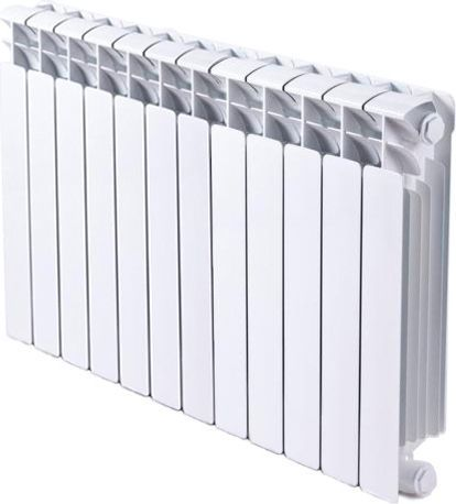 Радиатор биметаллический Rifar Base Ventil 350 12 секций правое подключение