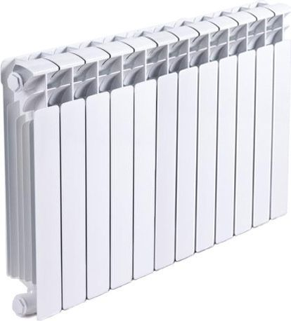 Радиатор биметаллический Rifar Base Ventil 500 12 секций левое подключение