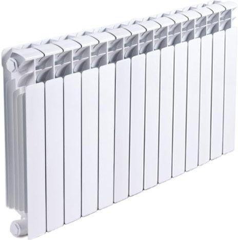 Радиатор биметаллический Rifar Base Ventil 500 14 секций левое подключение