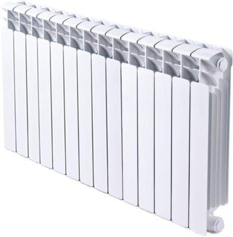 Радиатор биметаллический Rifar Base Ventil 500 14 секций правое подключение