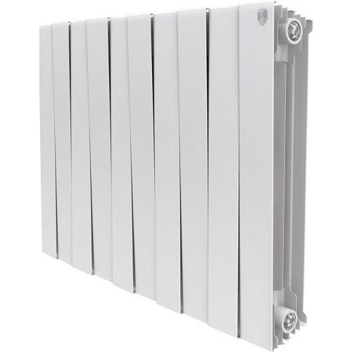 Радиатор биметаллический Royal Thermo Piano Forte 500 bianco traffico 10 секций, белый