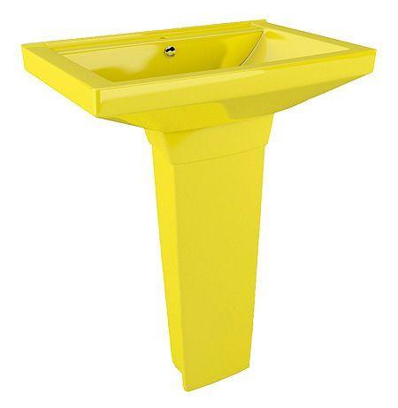 Раковина Arcus 330 yellow с пьедесталом