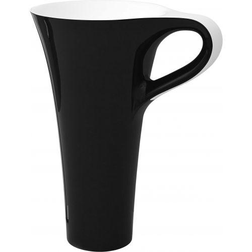 Раковина ArtCeram Cup OSL004 черная с белым
