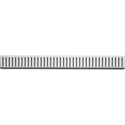 Решетка AlcaPlast Pure 750L глянцевая
