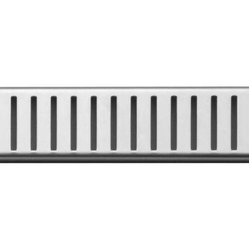 Решетка AlcaPlast Pure 850L глянцевая