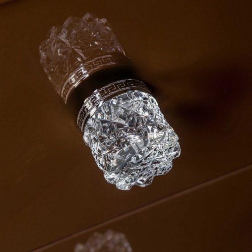 Ручка для мебели Armadi Art NeoArt Crystal хром