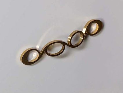 Ручка для мебели Armadi Art NeoArt Wave золото