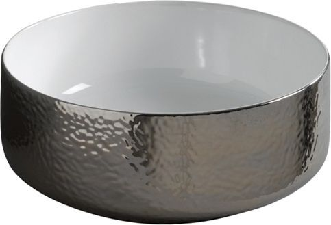 Рукомойник ArtCeram Cognac 42 affondante platino