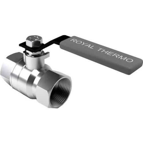 Шаровый кран Royal Thermo Expert 3/4 вн-вн, ручка рычаг