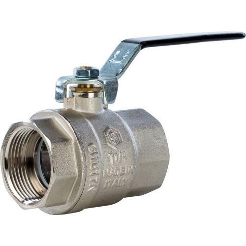 Шаровый кран Stout SVB-0001 1 1/4 вн-вн, полнопроходной, ручка рычаг