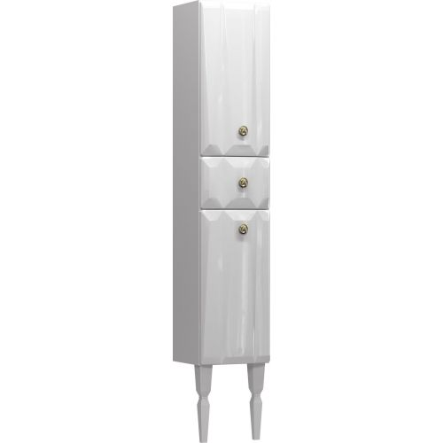 Шкаф-пенал Aima Design Brilliant 30П L white