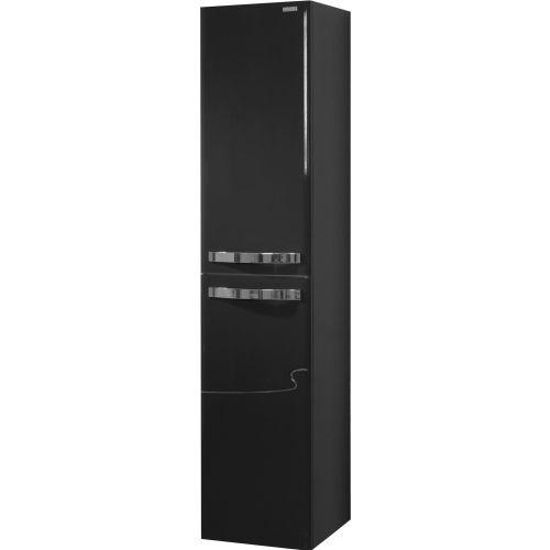 Шкаф-пенал Edelform Nota 38 серый, с бельевой корзиной