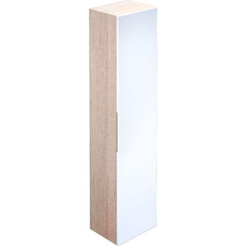 Шкаф-пенал Iddis Mirro 40 подвесной, белый, дерево