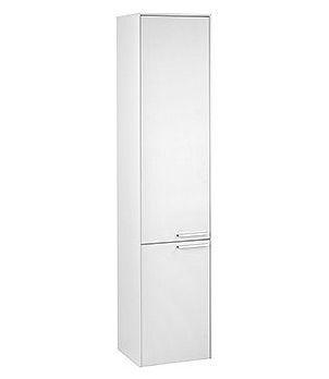 Шкаф-пенал Keuco Royal 60 белый глянец, с корзиной R