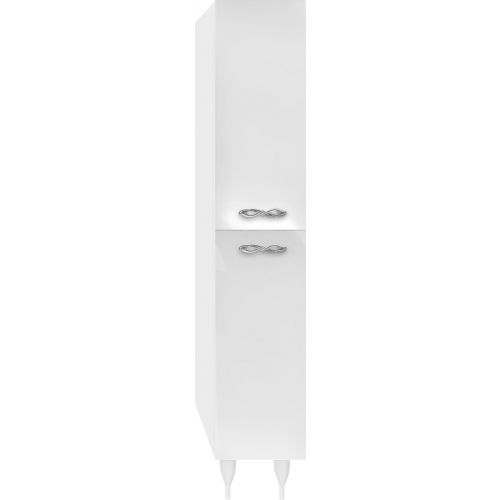 Шкаф-пенал Marka One Belle 30Н Spirale White R