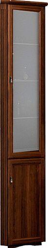 Шкаф-пенал Opadiris Клио 37 R угловой, нагал, матовое стекло