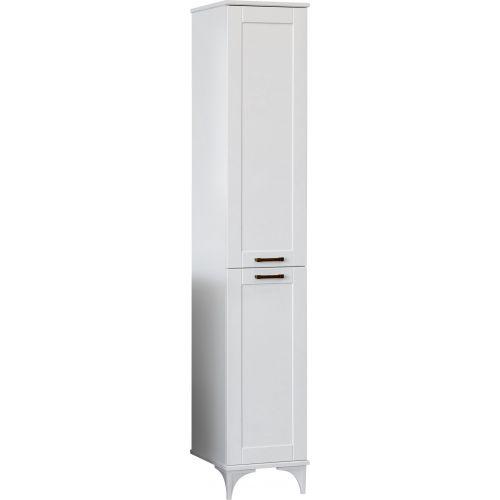 Шкаф-пенал Sanflor Ванесса 2 L напольный, белый