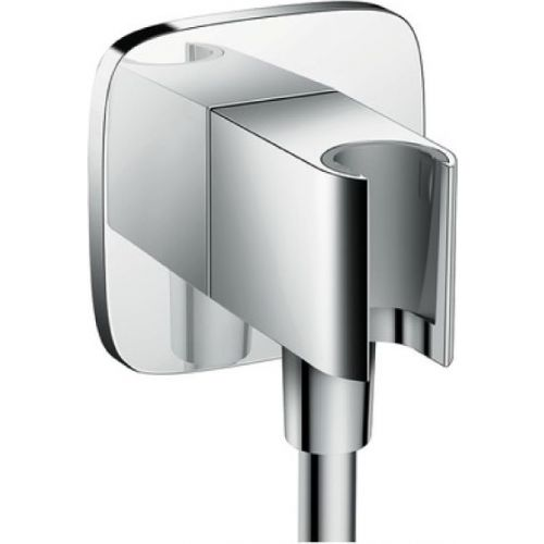 Шланговое подключение Hansgrohe Fixfit Porter E 26485000 держатель для душа