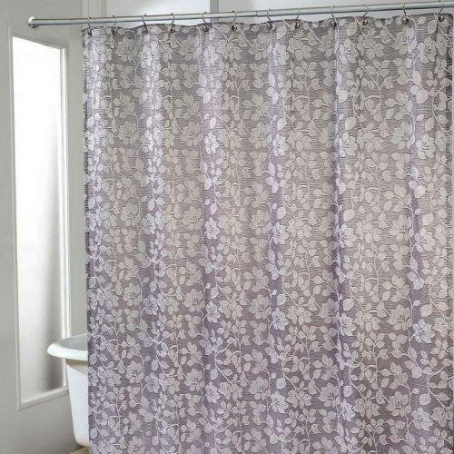 Штора для ванной Avanti Branches 13861H-SLV
