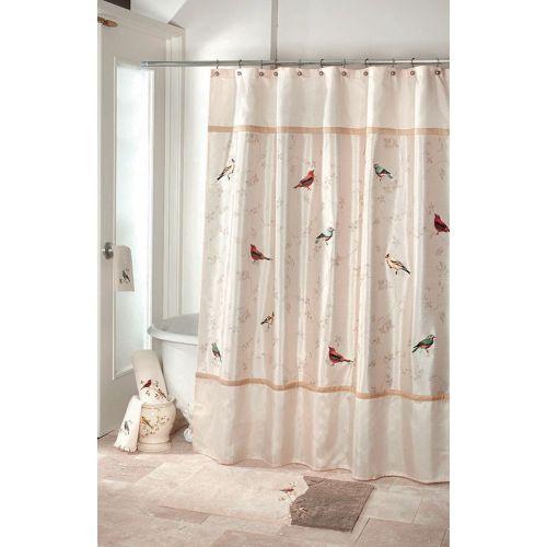 Штора для ванной Avanti Gilded Birds