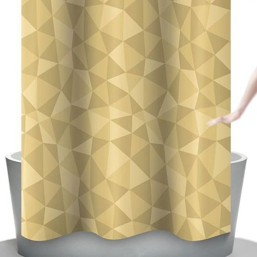 Штора для ванной Bacchetta 240х200 Diamante бежевая