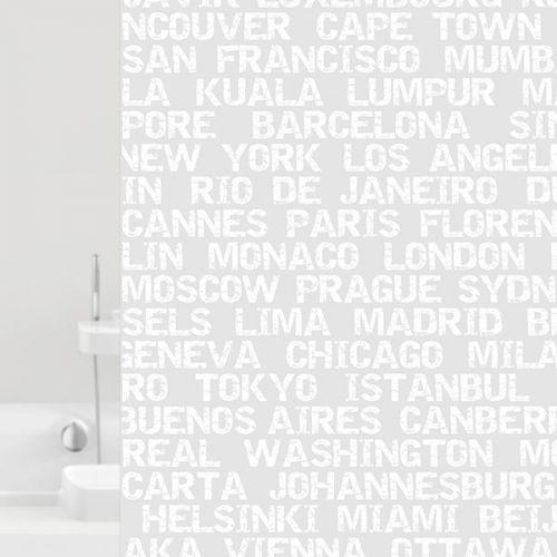 Штора для ванной Bacchetta City 180х200