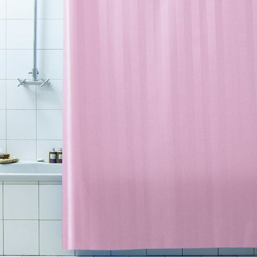 Штора для ванной Bacchetta Rigone 240х200 розовая