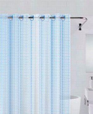 Штора для ванной Bath Plus 3D NFD -3D-blue