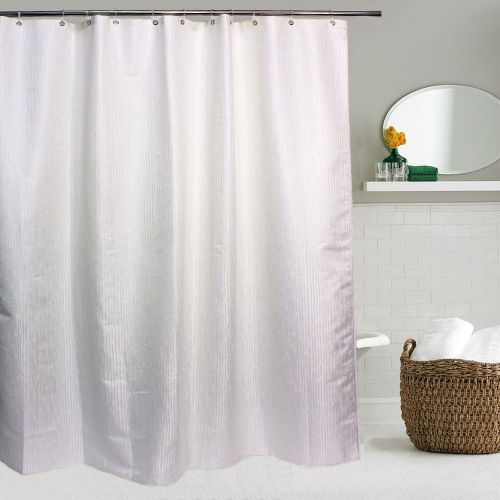 Штора для ванной Bath Plus Decor collection JAC1507 180x200, слоновая-кость