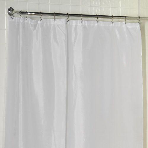 Штора для ванной Carnation Home Fashions Extra Long Liner White защитная