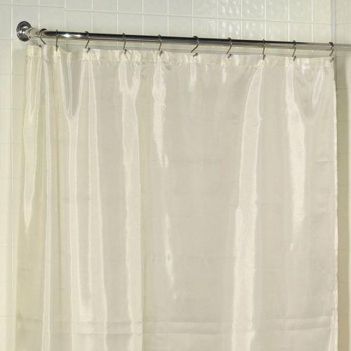 Штора для ванной Carnation Home Fashions Long Liner Ivory защитная