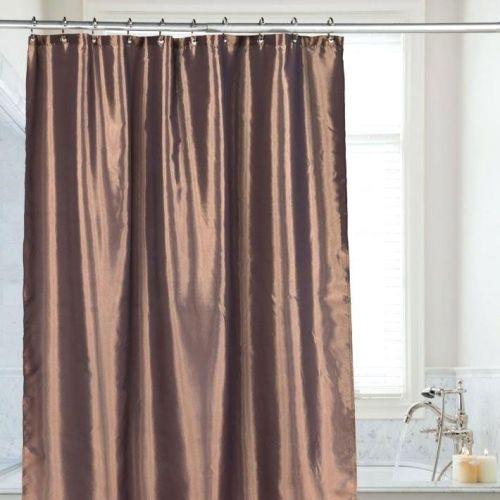 Штора для ванной Carnation Home Fashions Shimmer Bronze