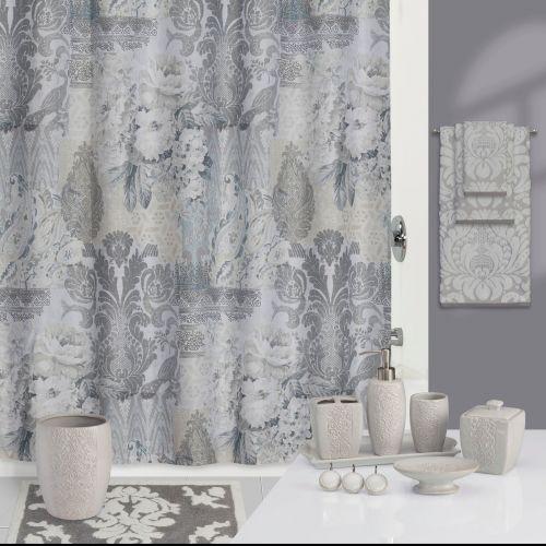 Штора для ванной Creative Bath Heirloom S1231GRY серая