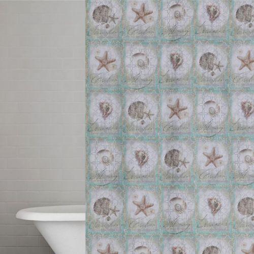 Штора для ванной Creative Bath Sea Treasures