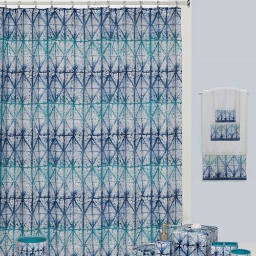 Штора для ванной Creative Bath Shibori
