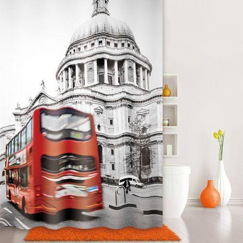 Штора для ванной Iddis London Spirits