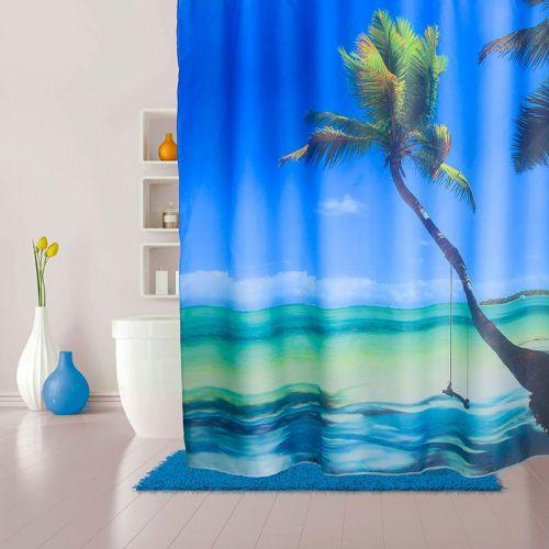 Штора для ванной Iddis Maldivian