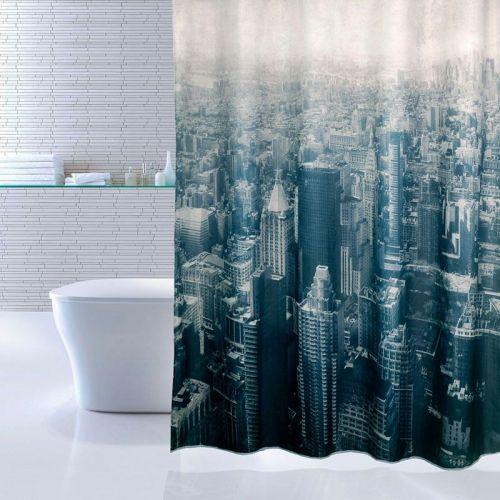 Штора для ванной Iddis Megapolis
