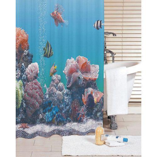 Штора для ванной Iddis Pacific Ocean