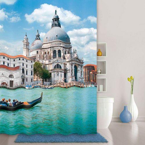 Штора для ванной Iddis Venice Moments