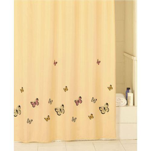 Штора для ванной Iddis Yellow Butterfly