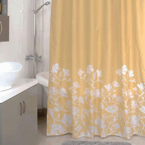 Штора для ванной Milardo Beige Silhouette