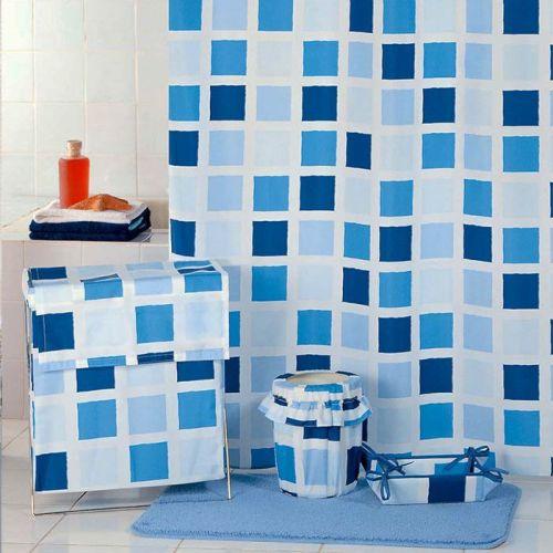 Штора для ванной Milardo Checked Fresco