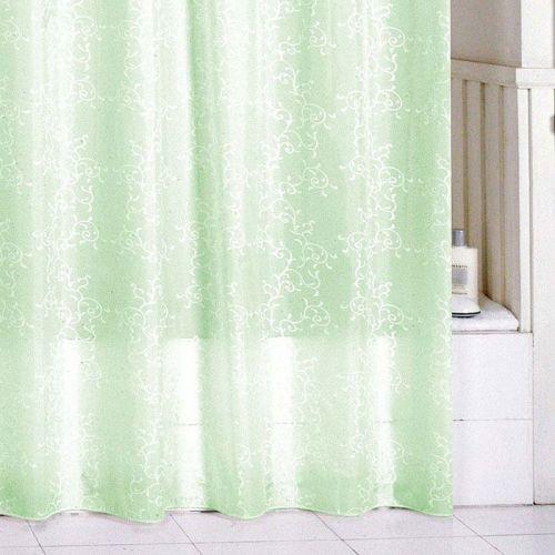 Штора для ванной Milardo Green Leaf