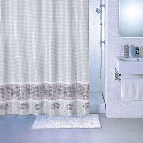 Штора для ванной Milardo Grey Fresco