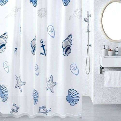 Штора для ванной Milardo Sea Fantasy